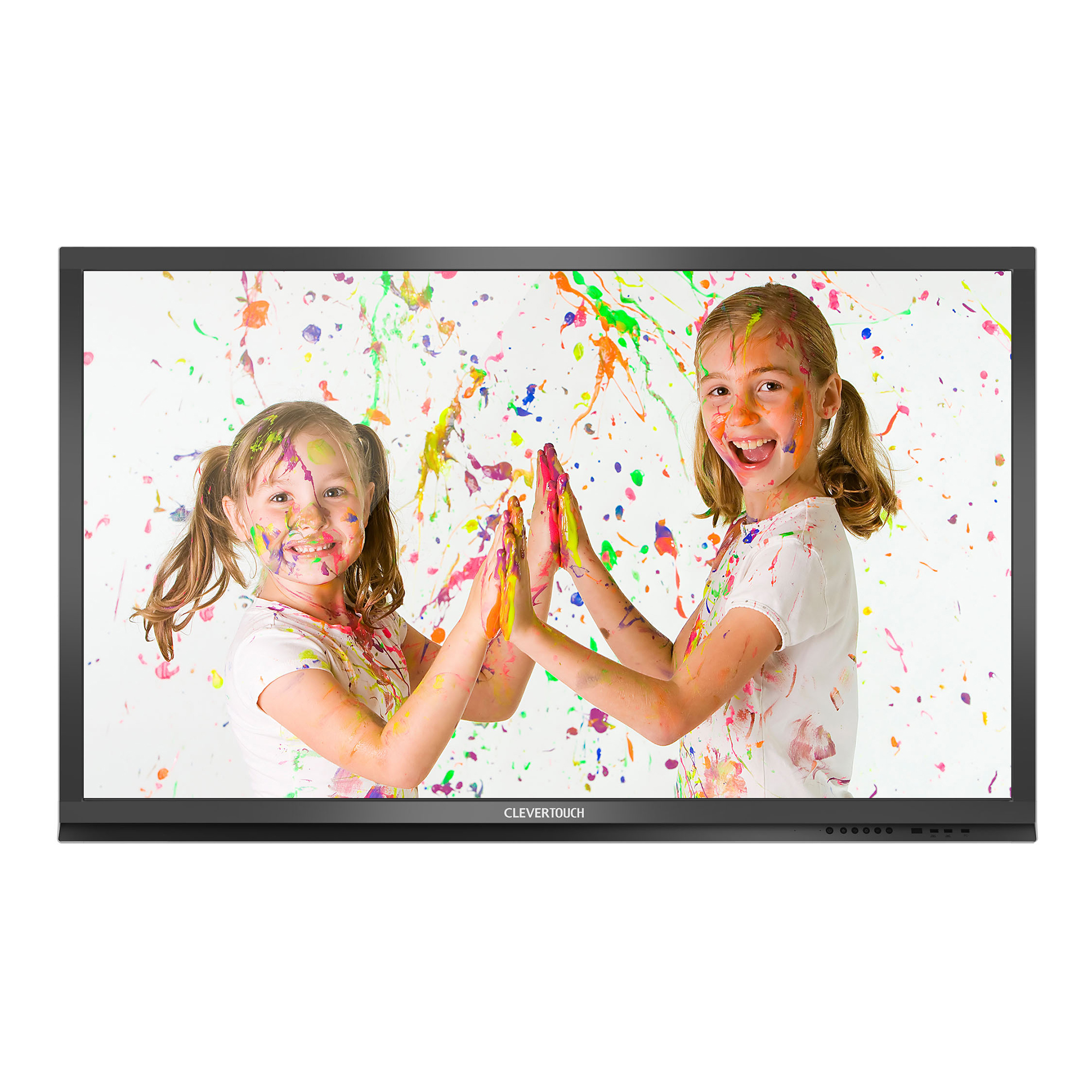 """Clevertouch Plus 65"""" 10-point Touch With AG Glass"""