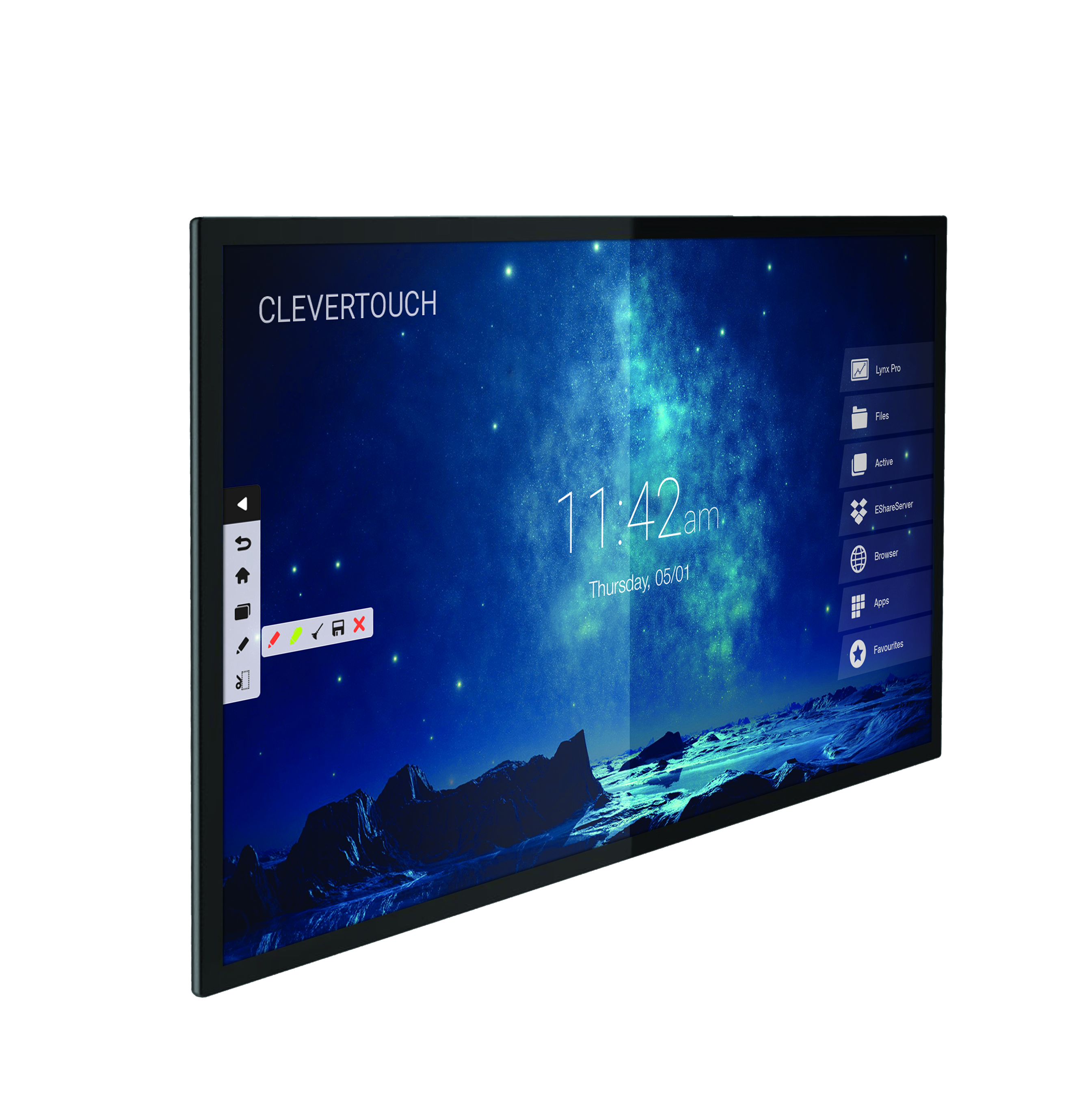 """Capacitive Touch 65"""" 4K 20 Point Touch"""