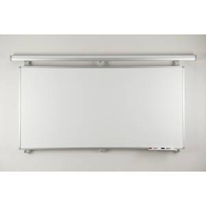 Twin Track non-magnetic dry-wipe board 1800 x 900mm