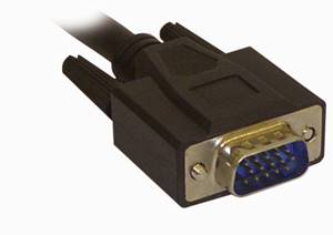 2m VGA monitor adapter cable HD15M to HD15M