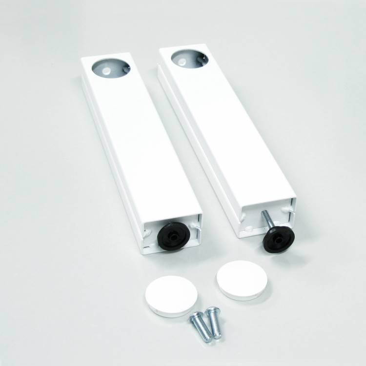 Extension feet for electrical wall lift 1040079, for non load bearing walls *WHITE*