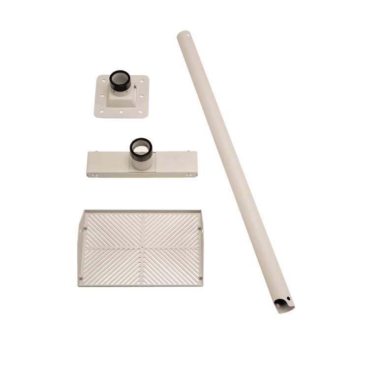 1m Ceiling Mount Kit Pearl Grey