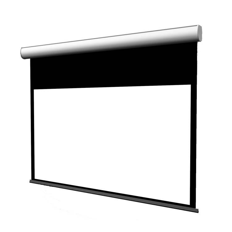 JAGO 16:9, Viewing area 406cm x 228cm, + Black Borders, FlatVision WHITE