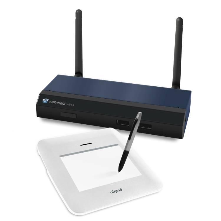 WePresent WiPG-1500 Wireless Interactive Presentation Gateway with AirPad