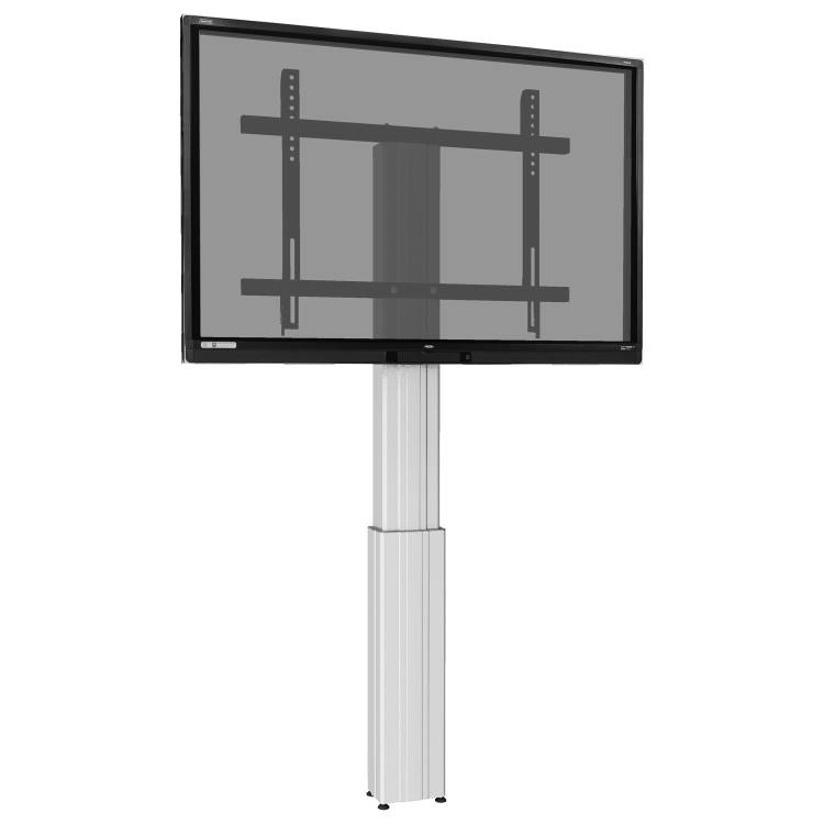 Clevertouch motorised height adjustable wall lift light up to 86