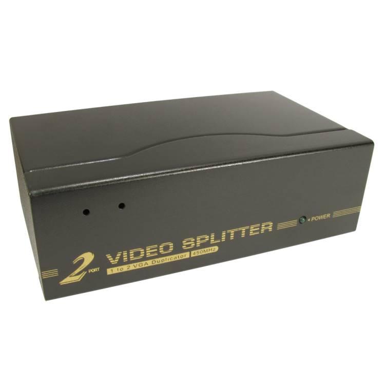 2 port VGA Amplified Splitter (450MHz)