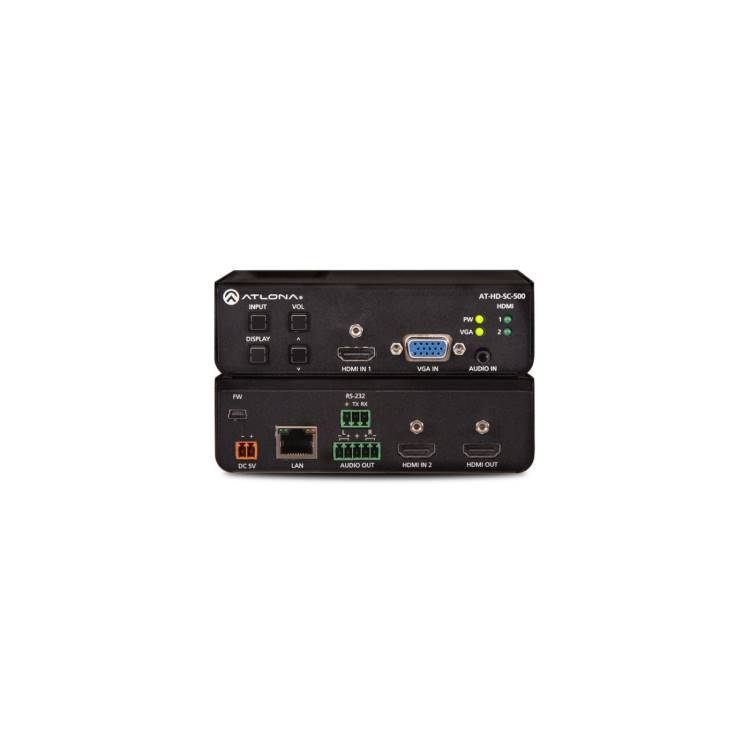 Atlona AT-HD-SC-500 Three-Input HD Video Scaler for HDMI and VGA Signals