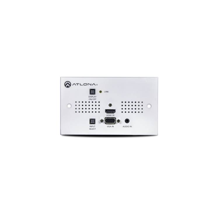 Atlona AT-HDVS-150TXWPU Two-Input UK Wallplate Switcher for HDMI and VGA with HDBaseT Output