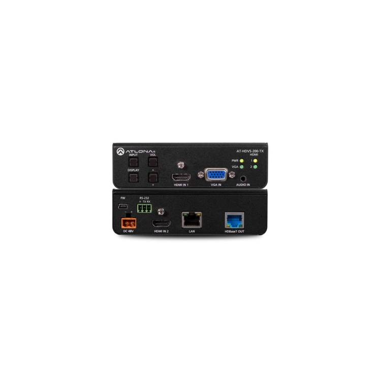 Atlona AT-HDVS-200-TX Three-Input Switcher for HDMI and VGA with Ethernet-Enabled HDBaseT Output