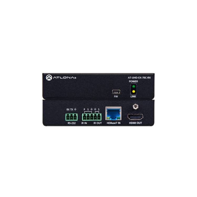 Atlona AT-UHD-EX-70C-RX UHD Pro3 Switcher (AT-UHD-EX-70C-RX) Receiver and control