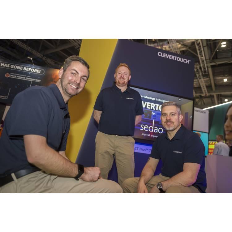 Matt Callow, Ryan Stapleton, Gareth Middleton (L-R)