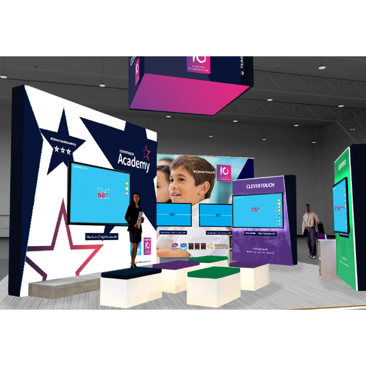BETT 2019 - Clevertouch booth