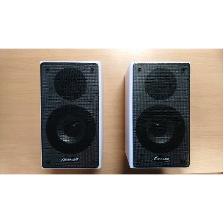 Wall Mounted Active Speakers MKIII (inc IR remote volume control)