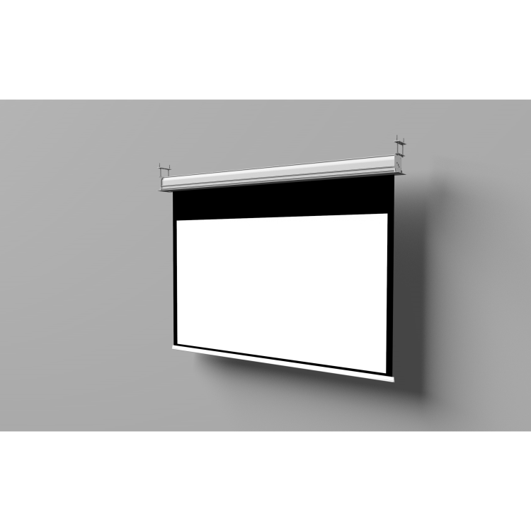 Inceiling 16:9 viewing area 240cm x134cm -5 cm borders, flatvision