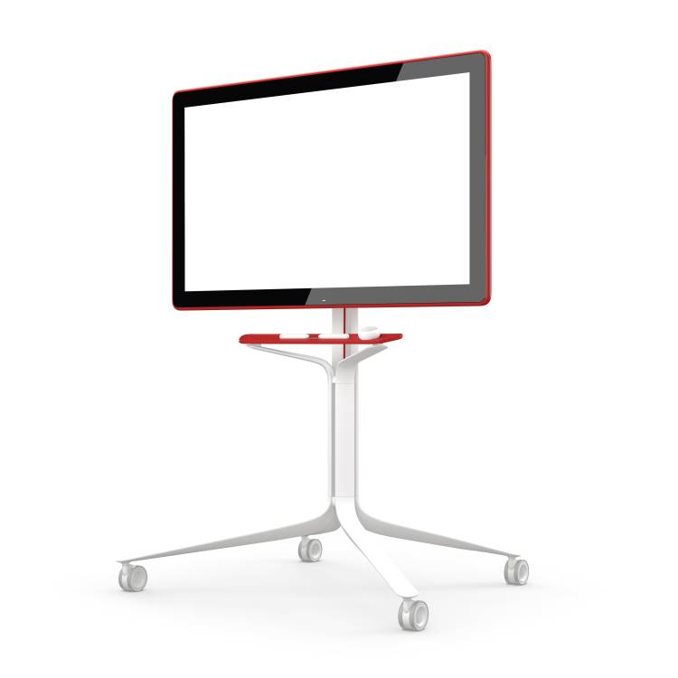 Rolling Stand for Google Jamboard