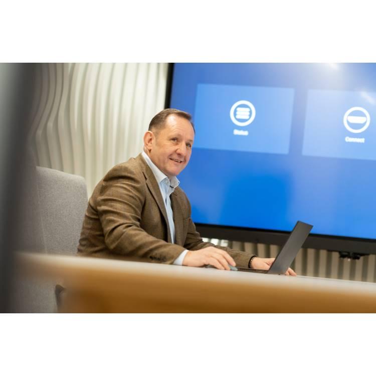 EMEA Sales Director, John Ginty