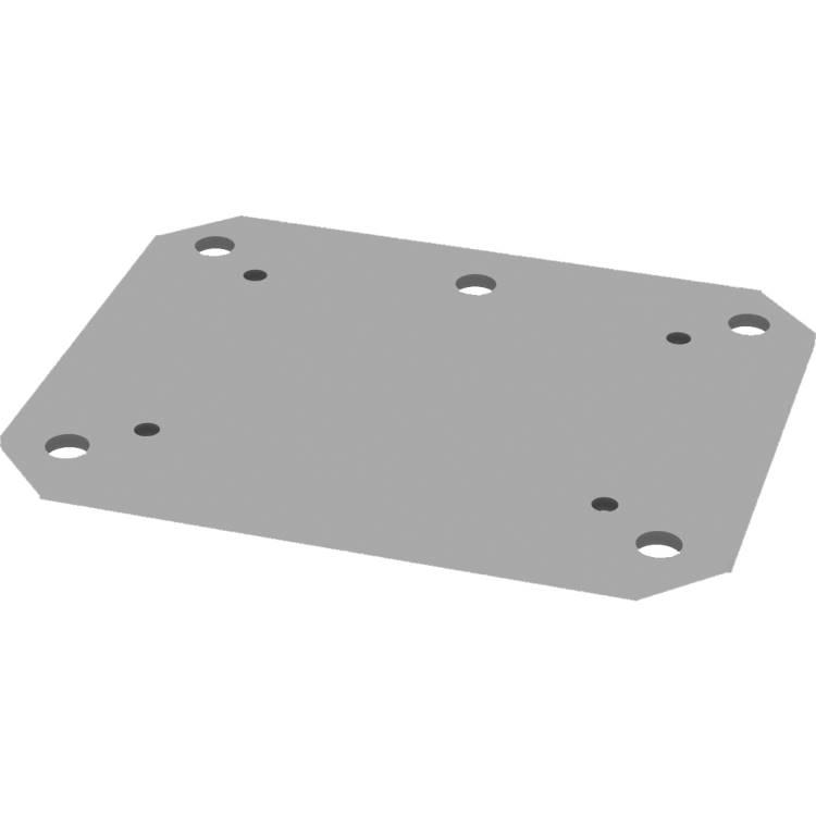 Conen bolt down floor plate suitable for 1542404 & 1542405 (PSTSCETAS)