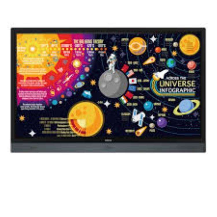 BenQ RP6501K Interactive Flat Panel Display (9H.F4STK.DE1)