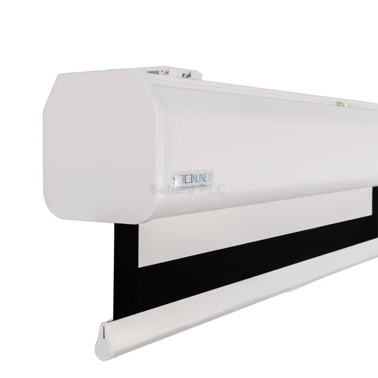 ScreenLine 3.4m 16:10 electric screen supplied with Flat Vision white material (M340FV-1610W20)
