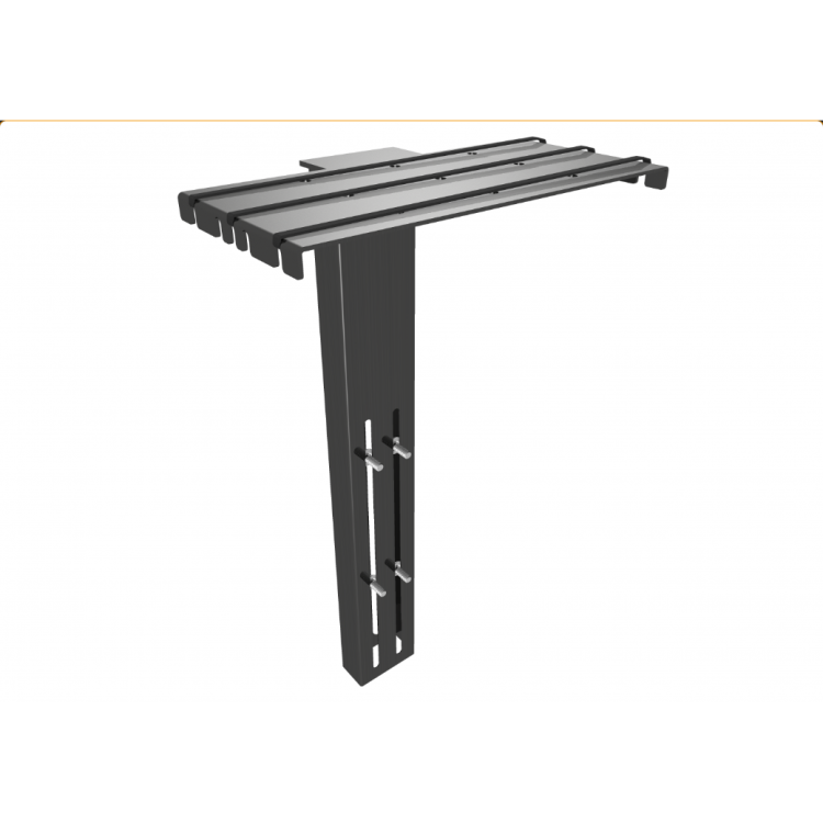 Clevertouch video conferencing shelf 75