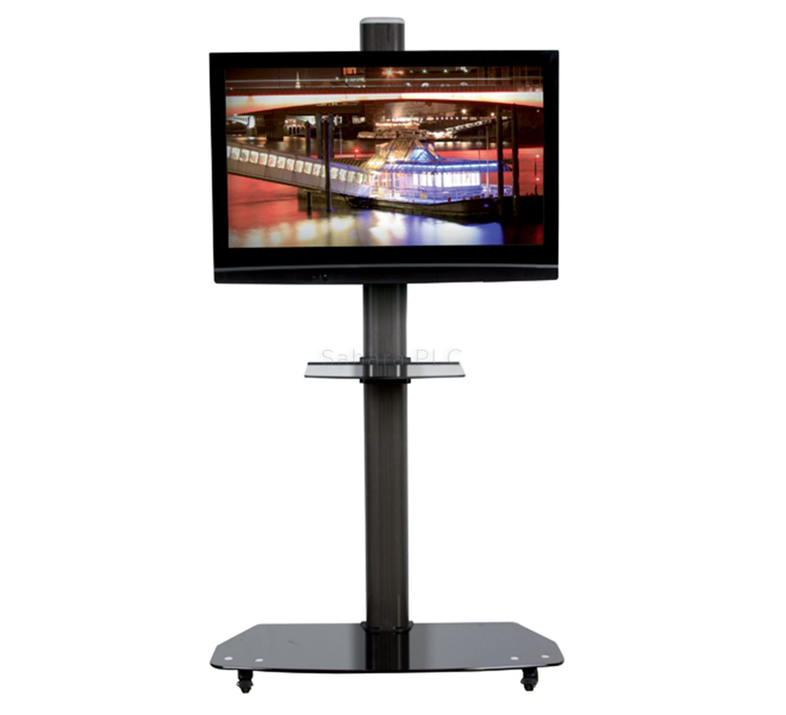 B Tech Flat Screen Floor Stand Trolley Up To 55 Quot 40kg