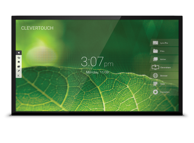 Clevertouch Pro touchscreen
