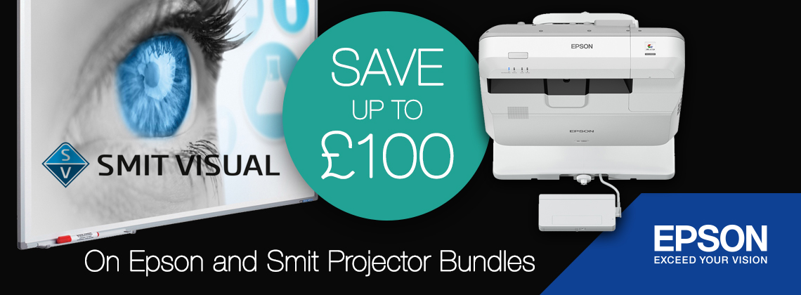 Save with Epson interactive projectors and projection boards